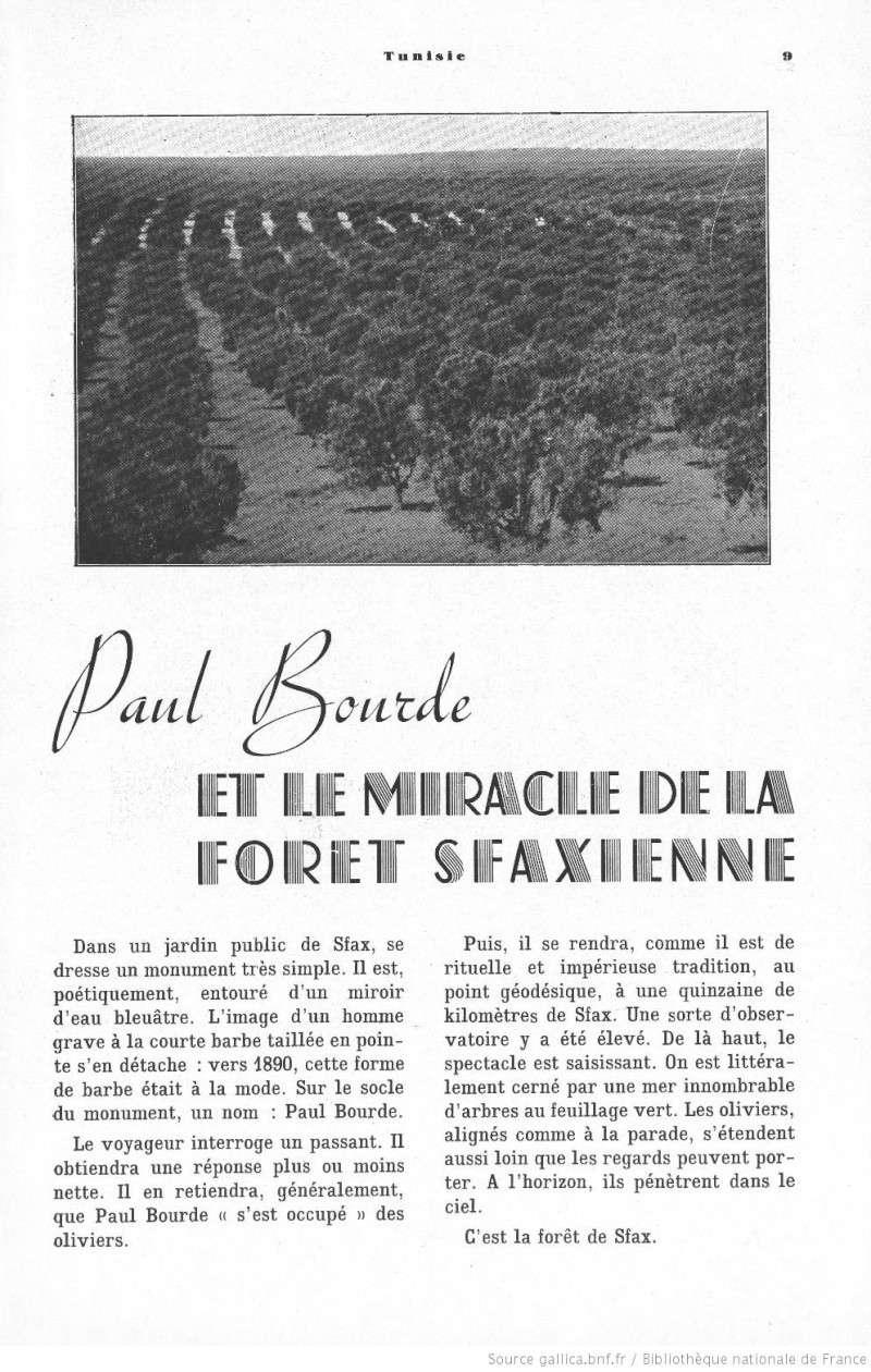 Paul BOURDE et le miracle de la forêt de Sfax n0166323
