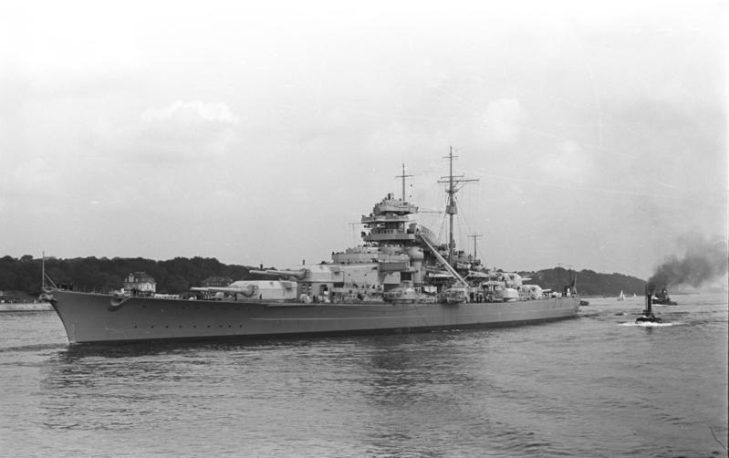 24 mai 1941 Le « Bismarck » coule le « Hood » schlac10