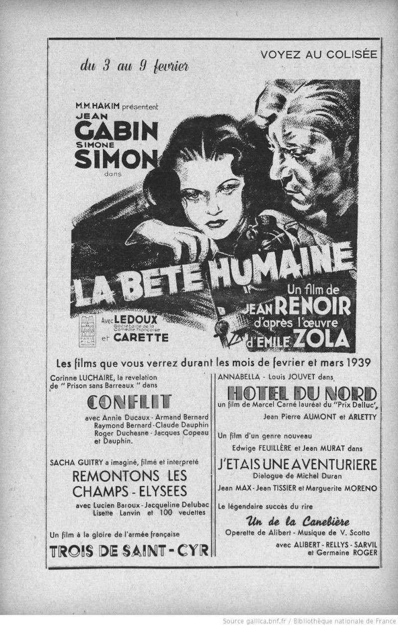 Séances cinéma à Tunis en 1939 seance10