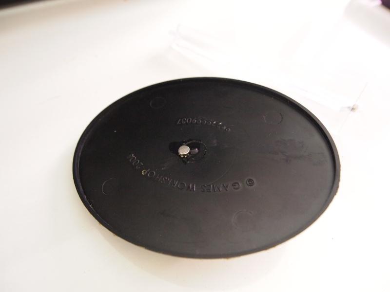 tuto cr ation de socle volant ovale escamotable. Black Bedroom Furniture Sets. Home Design Ideas