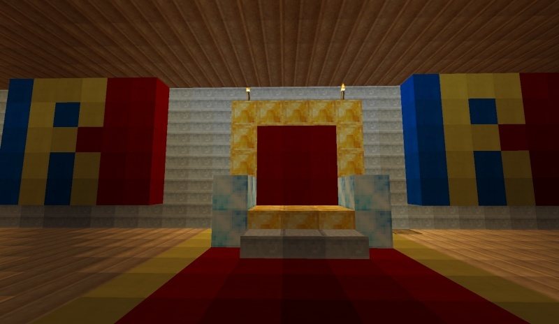 Mes cr ation minecraft for Salle a manger minecraft