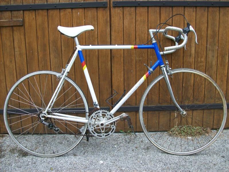 Vintage NOS vélo levier de frein anodisé clous en or