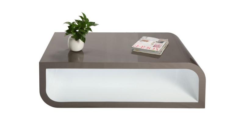 grande table basse carr e. Black Bedroom Furniture Sets. Home Design Ideas