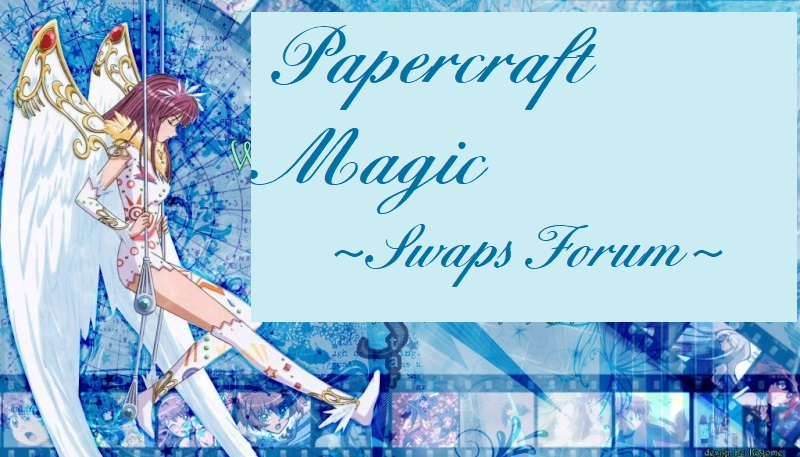 PAPERCRAFT MAGIC SWAPS